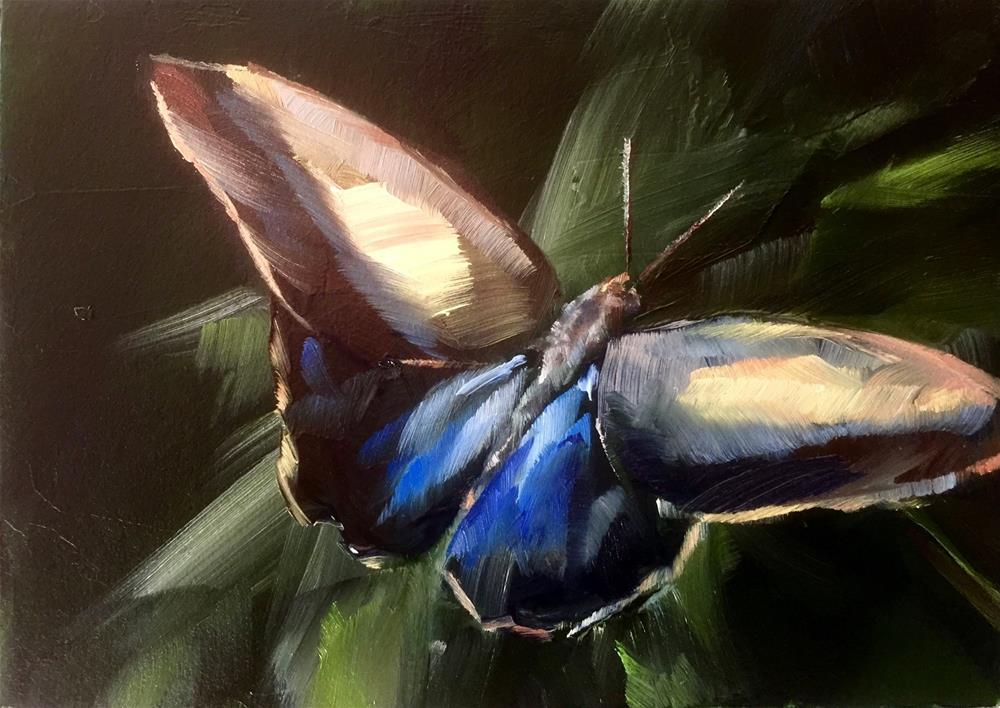 """""""Exotic Butterfly"""" original fine art by Gary Bruton"""