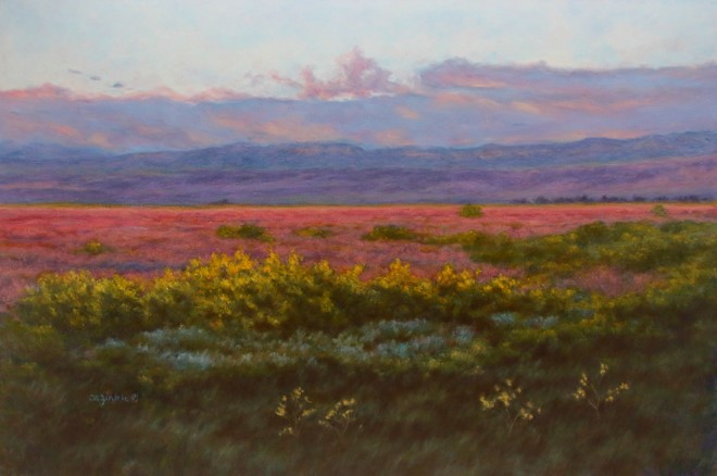 """Evening Fiesta"" original fine art by Carol Zirkle"