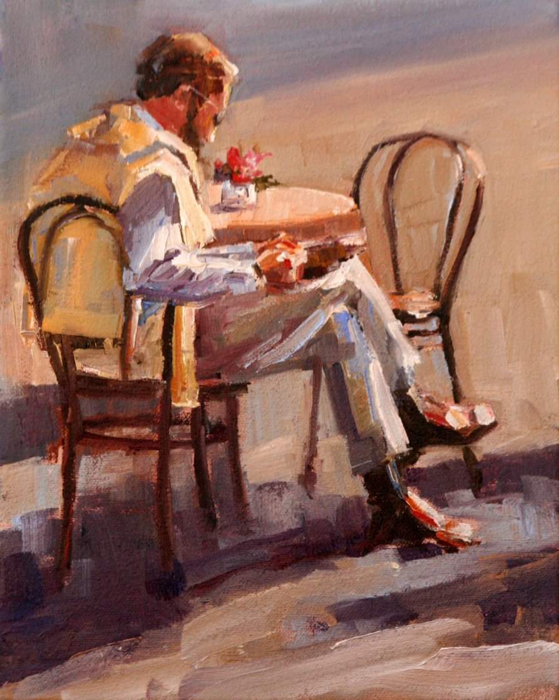 """morning break"" original fine art by Carol Carmichael"