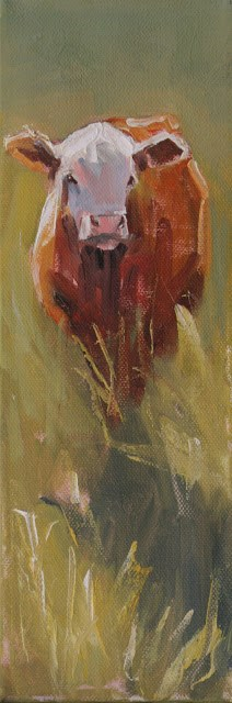 """windy"" original fine art by Carol Carmichael"