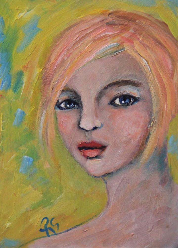 """""""Spring"""" original fine art by Roberta Schmidt ArtcyLucy"""