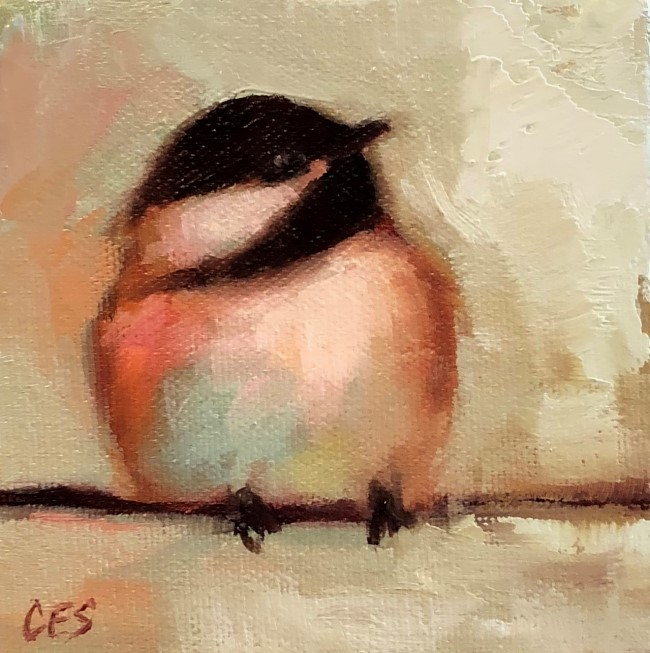 """I Know I'm Cute"" original fine art by ~ces~ Christine E. S. Code"