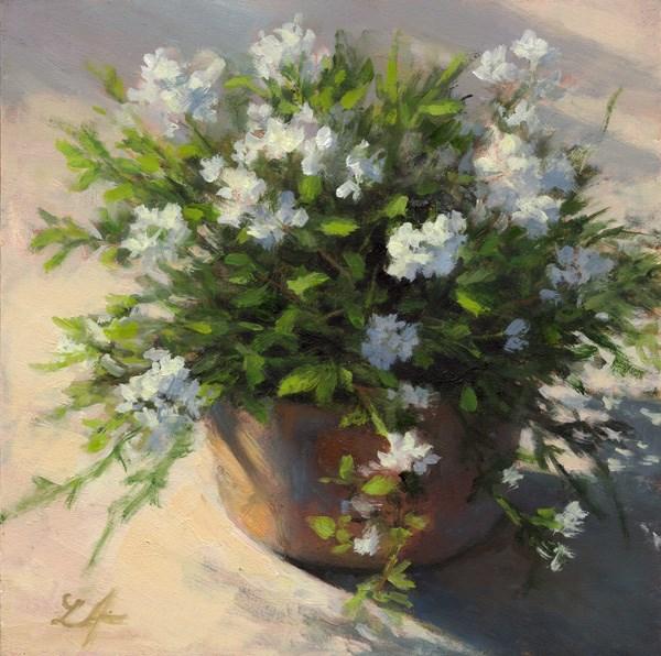 """Summer Light"" original fine art by Linda Jacobus"