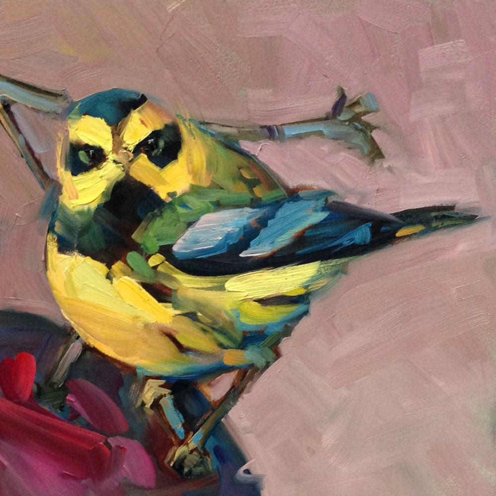 """Angry Bird"" original fine art by Patti McNutt"