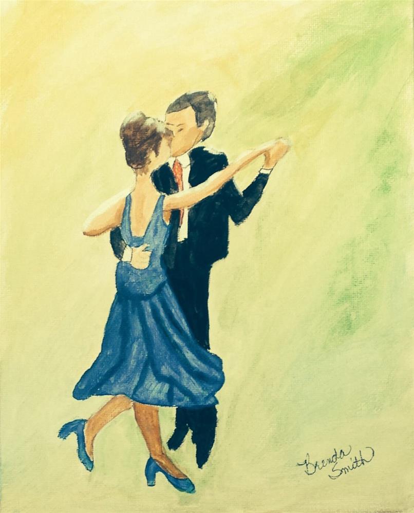 """Momma Loved to Dance"" original fine art by Brenda Smith"