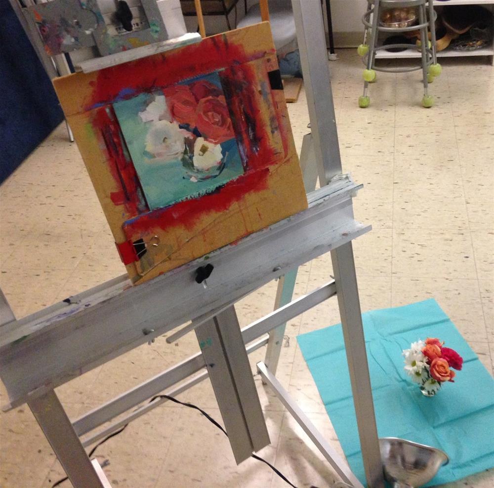 """""""2416 Bonita Springs"""" original fine art by Lisa Daria"""