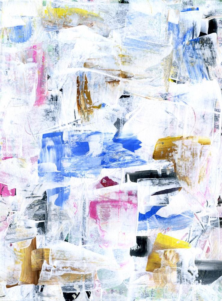 """""""Cool Blue"""" original fine art by Kali Parsons"""