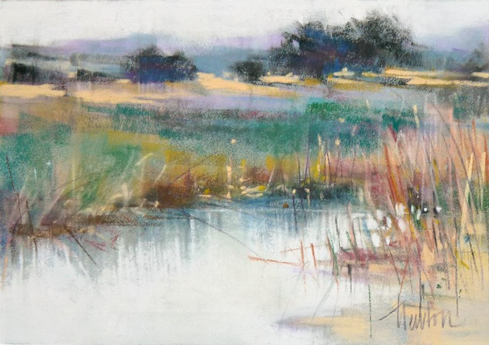 """Carmel Beach"" original fine art by Barbara Benedetti Newton"