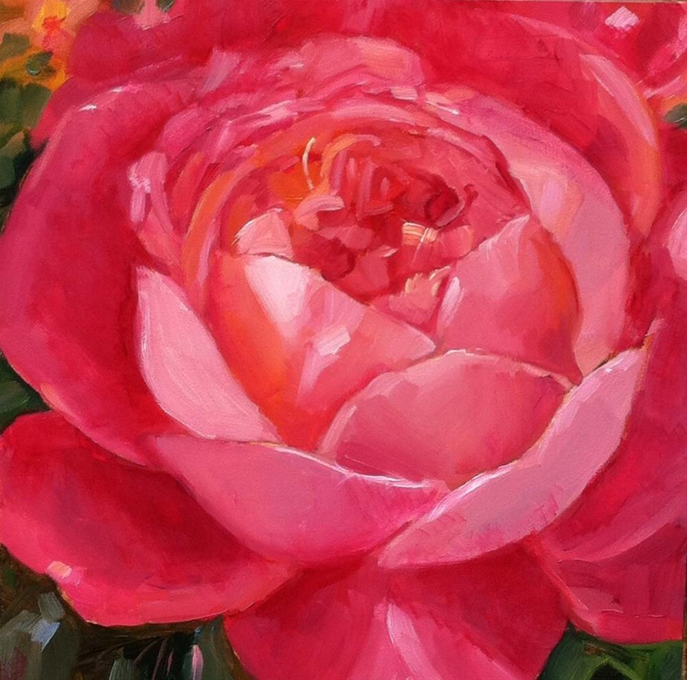 """Full Blown"" original fine art by Libby Anderson"
