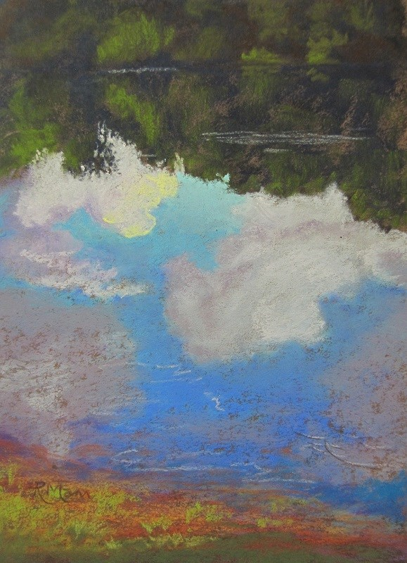 """On Reflection"" original fine art by Ruth Mann"