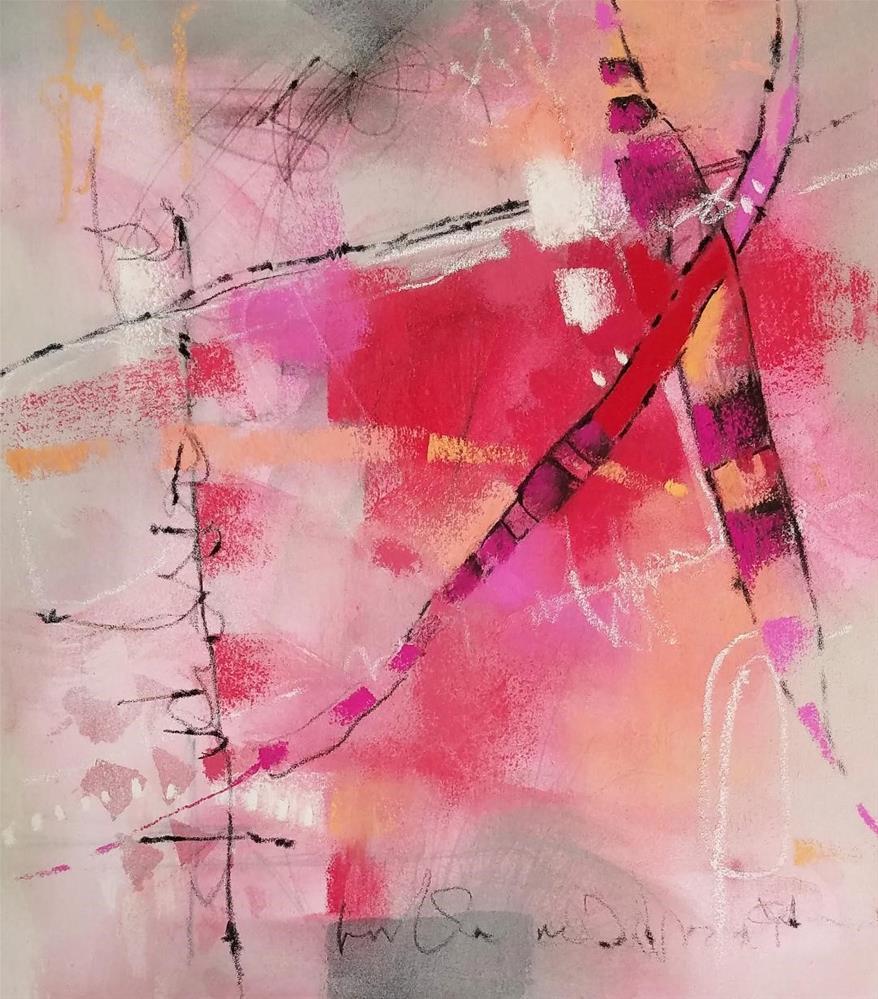 """Track 88"" original fine art by Cindy Haase"