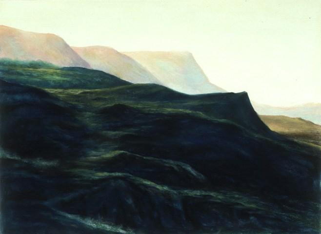 """""""Kerry Mountain Pass"""" original fine art by Joe Fitzgerald"""
