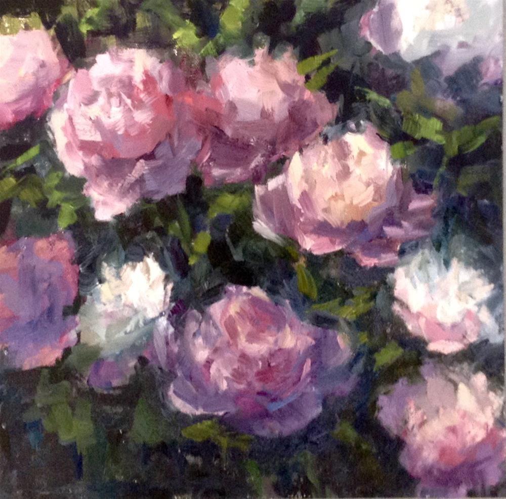 """""""In The Garden"""" original fine art by Barbie Smith"""