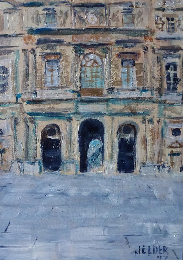 """Paris No. 105"" original fine art by Judith Elder"