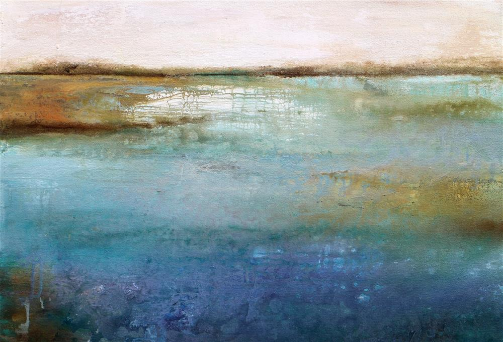 """Water Colors"" original fine art by Karen Hale"