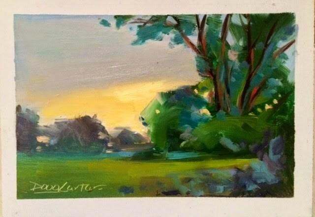 """EMBRACE"" original fine art by Doug Carter"