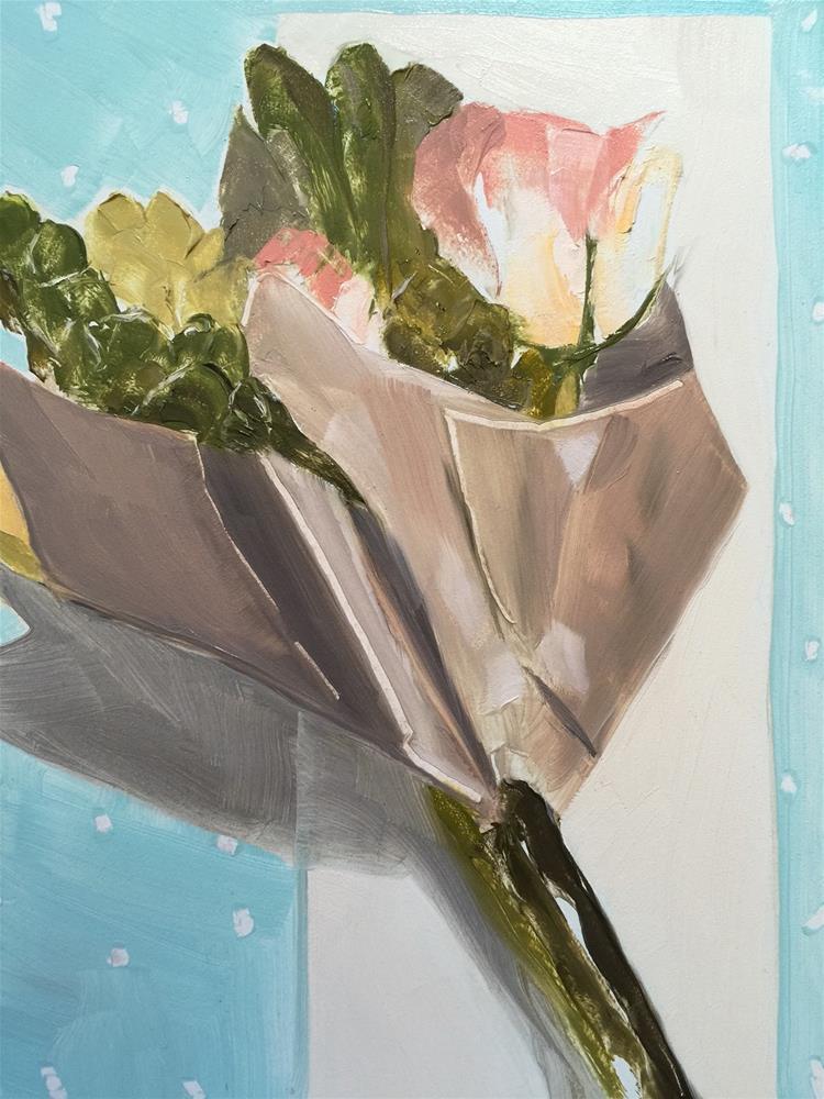 """154 Bouquet"" original fine art by Jenny Doh"