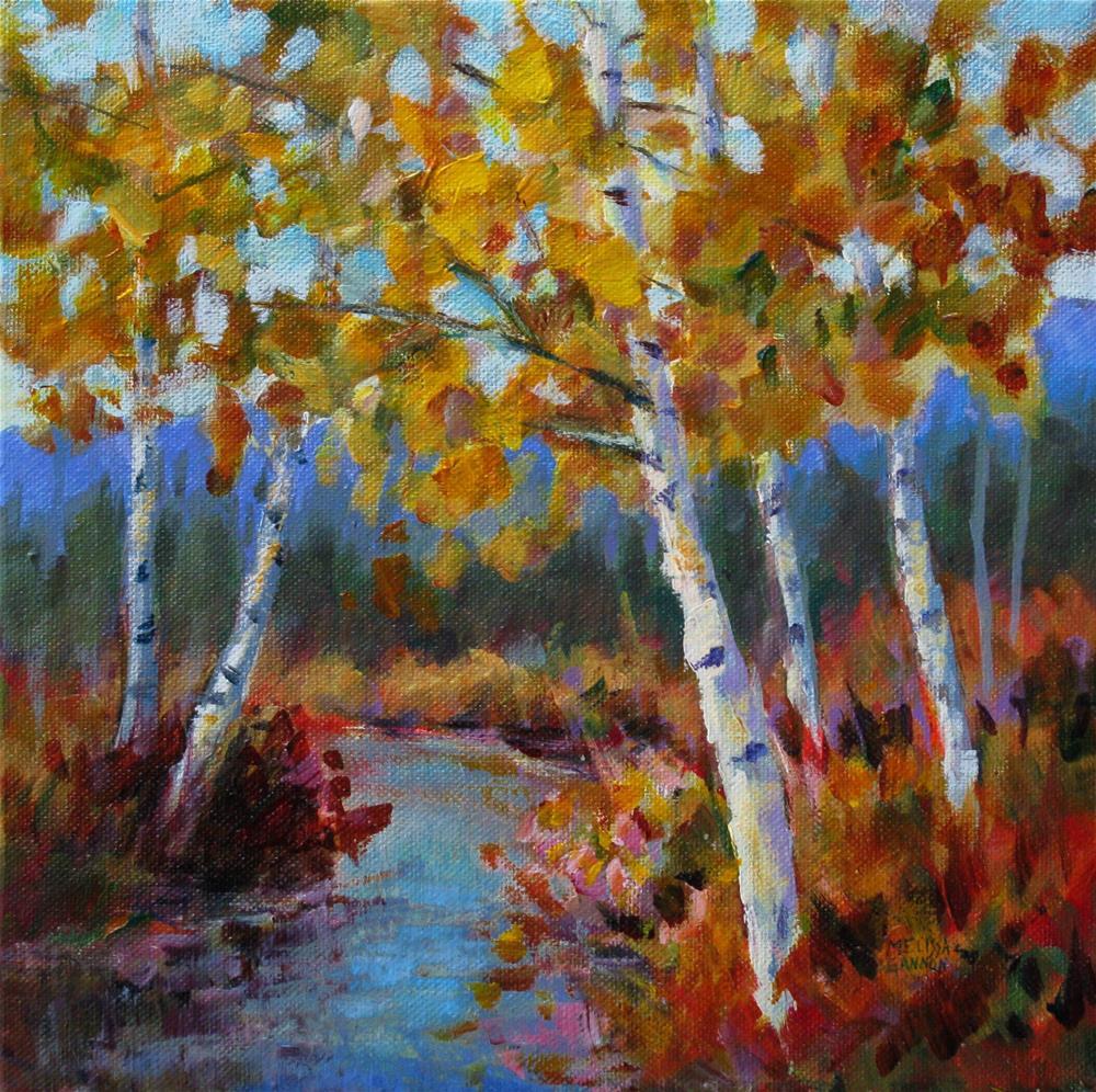 """Magic Along the River"" original fine art by Melissa Gannon"