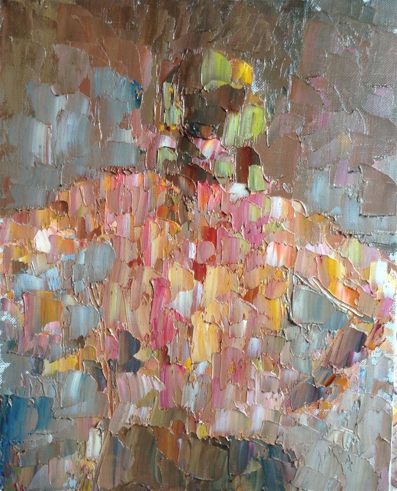 """""""Dressing 1"""" original fine art by Joseph Mahon"""