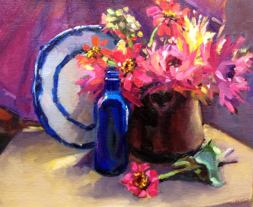 """A Reminder of Warmer Days"" original fine art by Laurie Johnson Lepkowska"