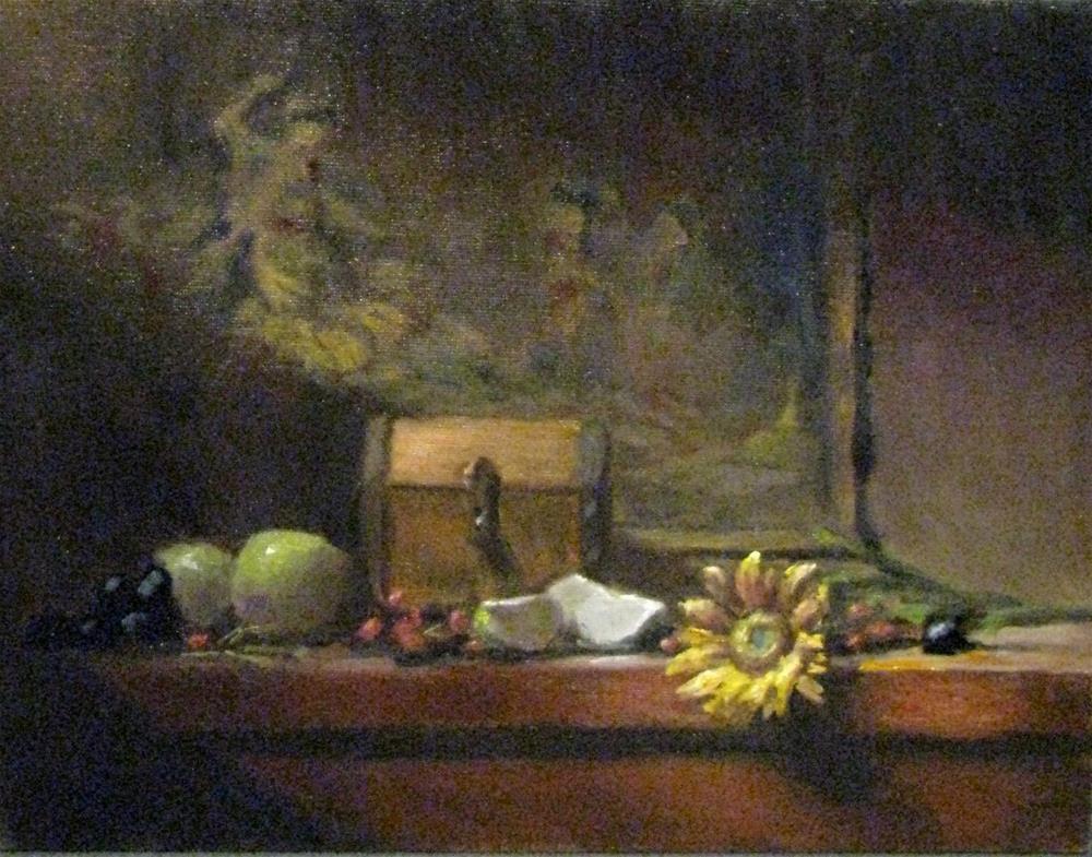 """early morning light"" original fine art by tom dawson"