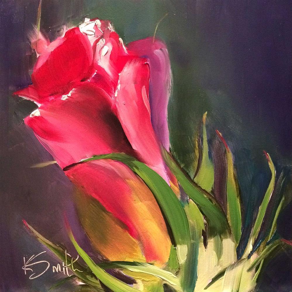 """cotton"" original fine art by Kim Smith"