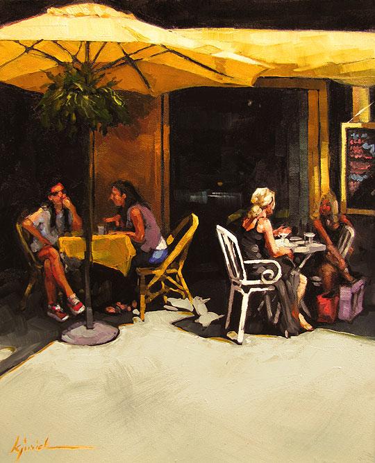 """Where the Girls Are"" original fine art by Karin Jurick"