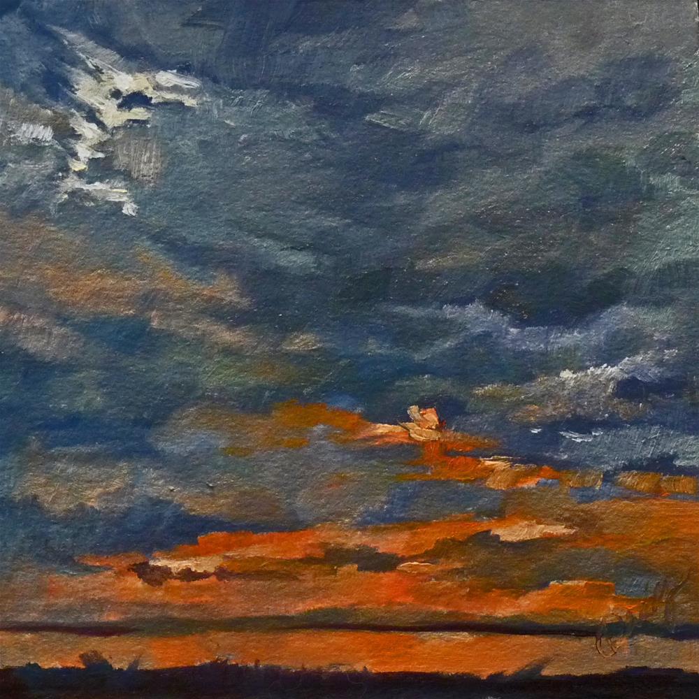 """Sky8"" original fine art by Sharman Owings"