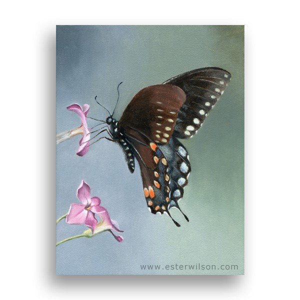 """Flight"" original fine art by Ester Wilson"