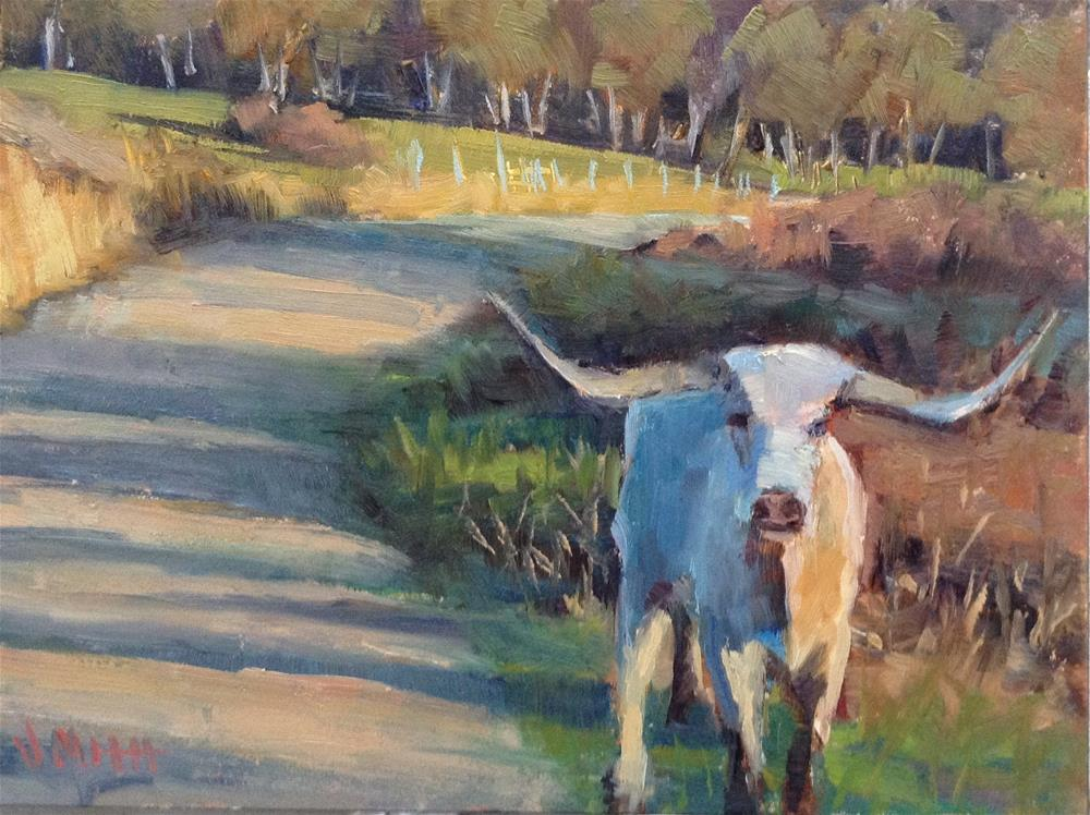 """""""Out and About"""" original fine art by Barbie Smith"""