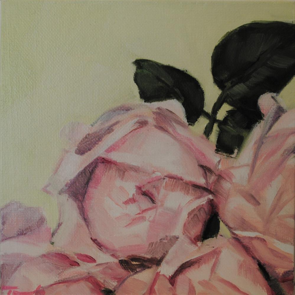"""Pale Peonies 002"" original fine art by Tamanda Elia"