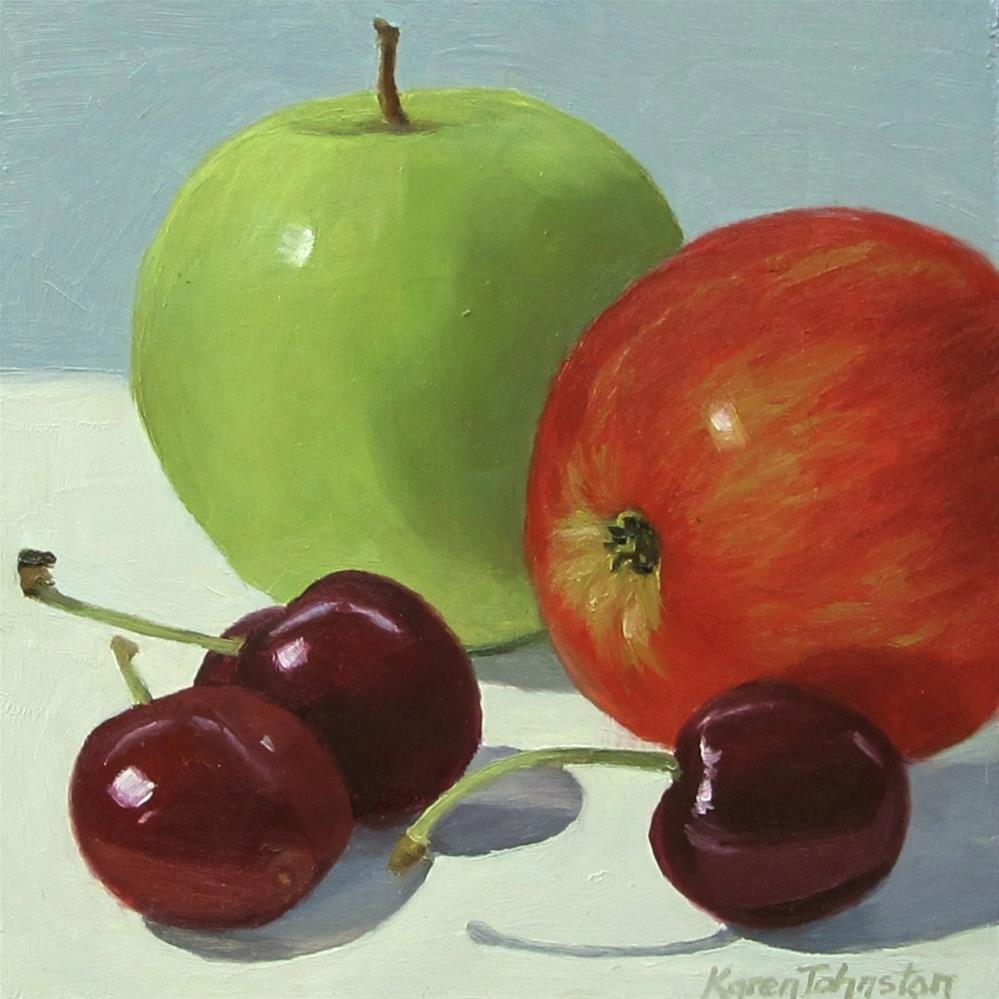 """Summer Fruit"" original fine art by Karen Johnston"