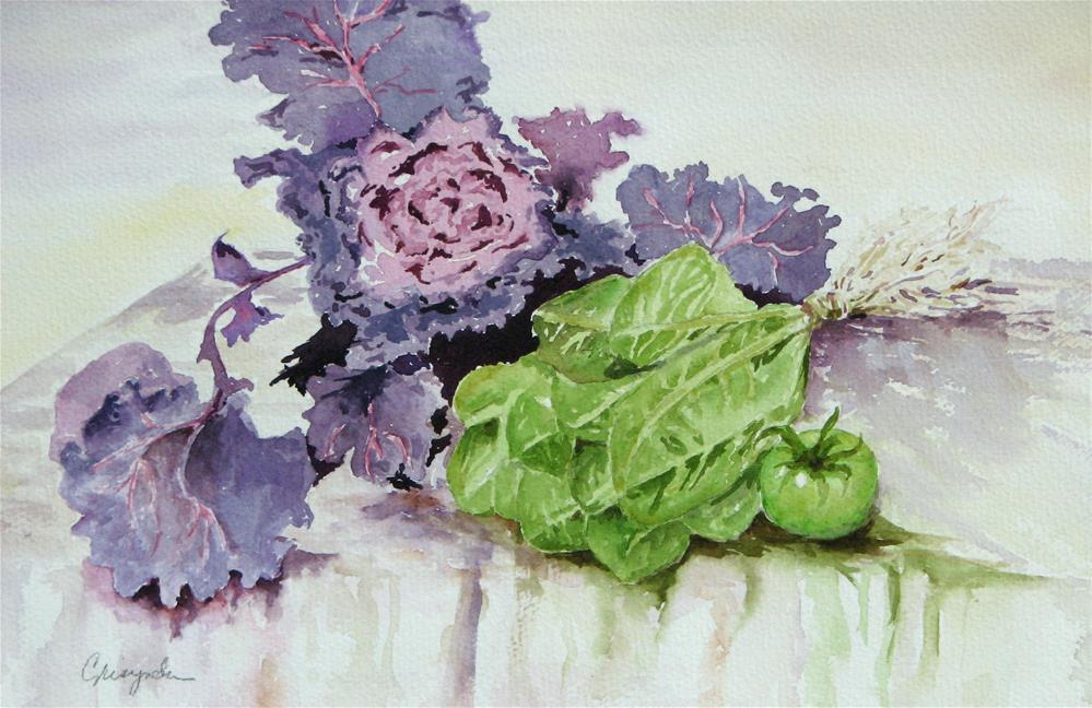 """My harvest"" original fine art by Crisynda Buss"
