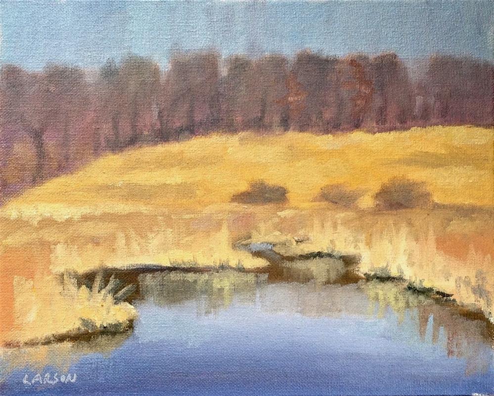 """Marsh Mellow"" original fine art by Eric Larson"