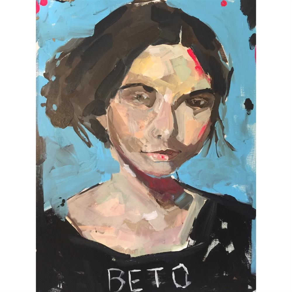 """662 We Will Always Have Beto"" original fine art by Jenny Doh"
