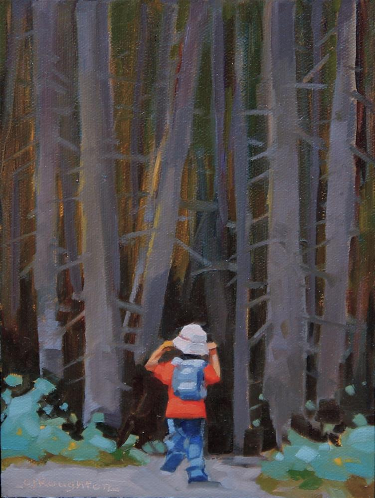"""Going On A Bear Hunt"" original fine art by C J Roughton"