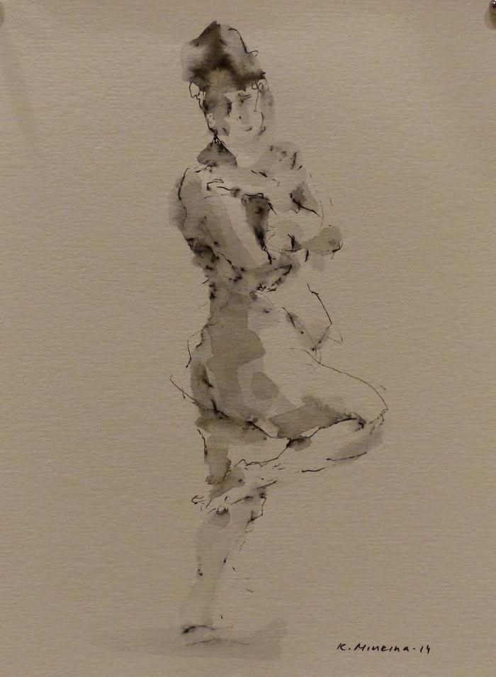 """nude6"" original fine art by Katya Minkina"