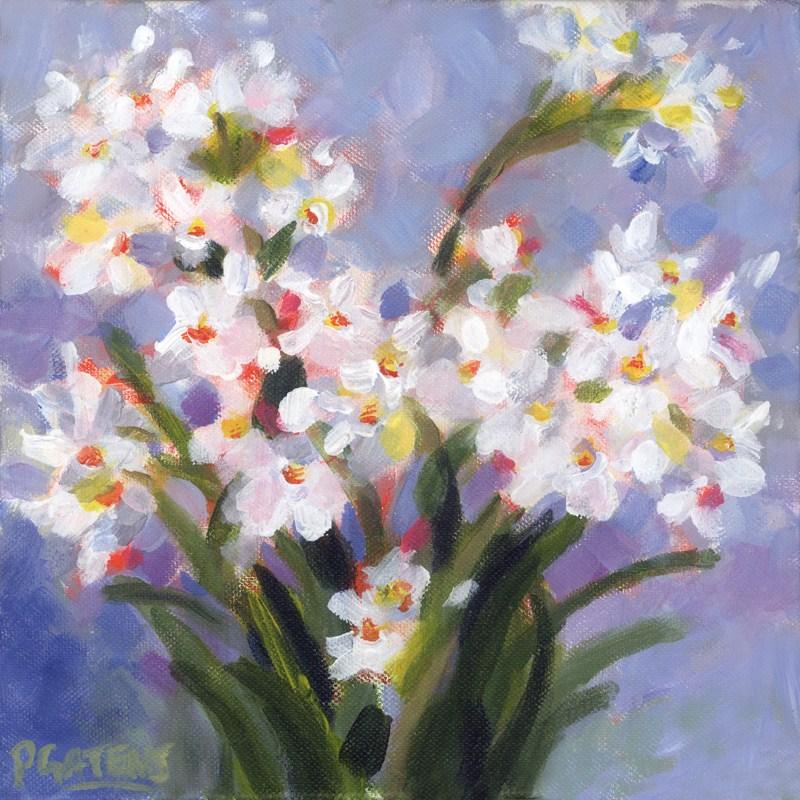 """New Narcissus"" original fine art by Pamela Gatens"