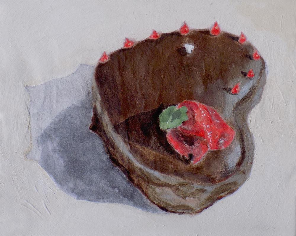 """Little Tart "" original fine art by Emily Clanton"