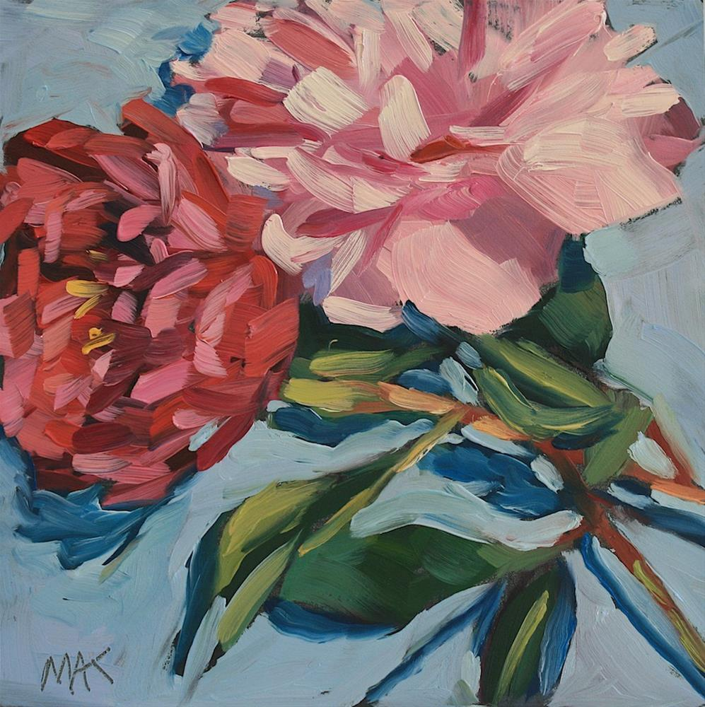"""""""Side by Side"""" original fine art by Mary Anne Cary"""