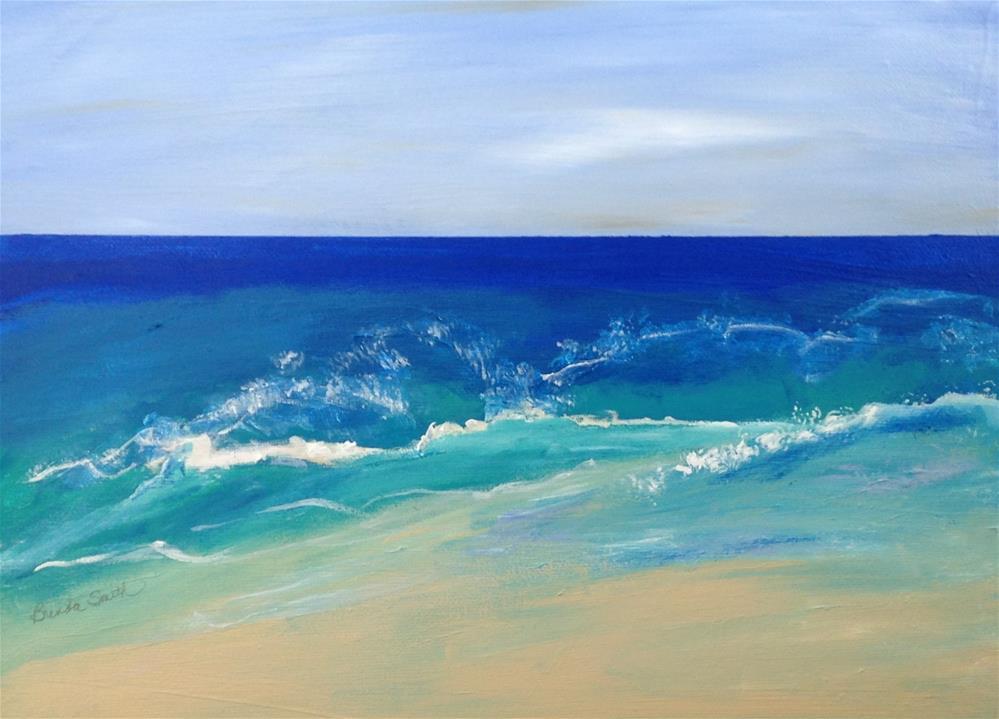 """Seaside Challenge"" original fine art by Brenda Smith"