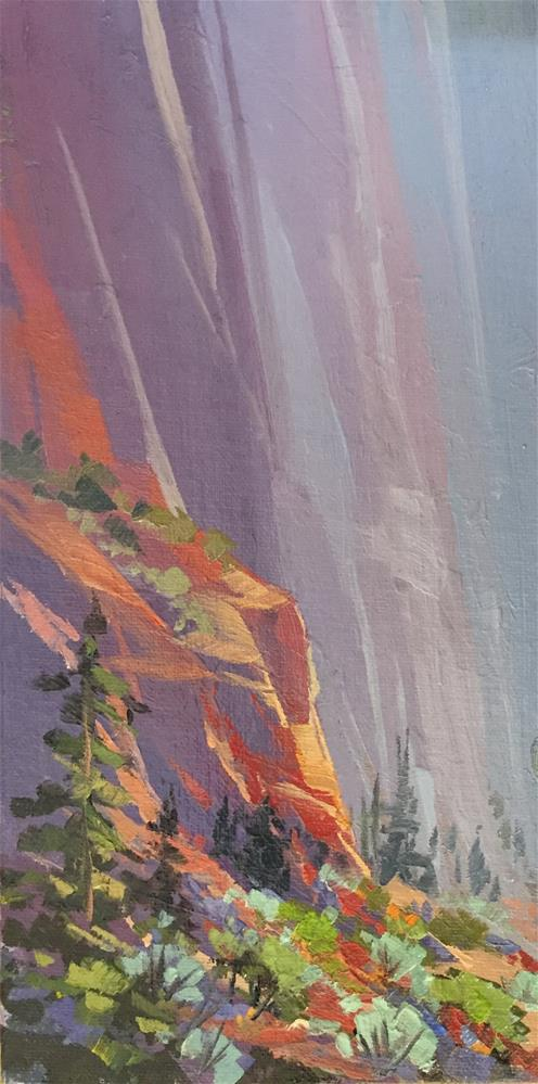 """""""Spring in the Canyons"""" original fine art by Mary Jabens"""