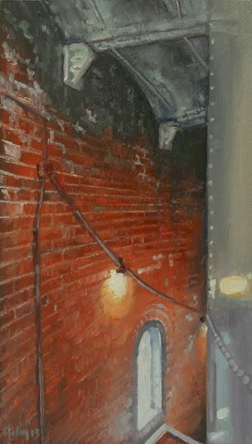 """Brick, 2"" original fine art by Ski Holm"