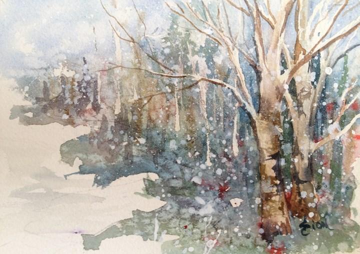 """Fairy Dawn"" original fine art by Sue Dion"