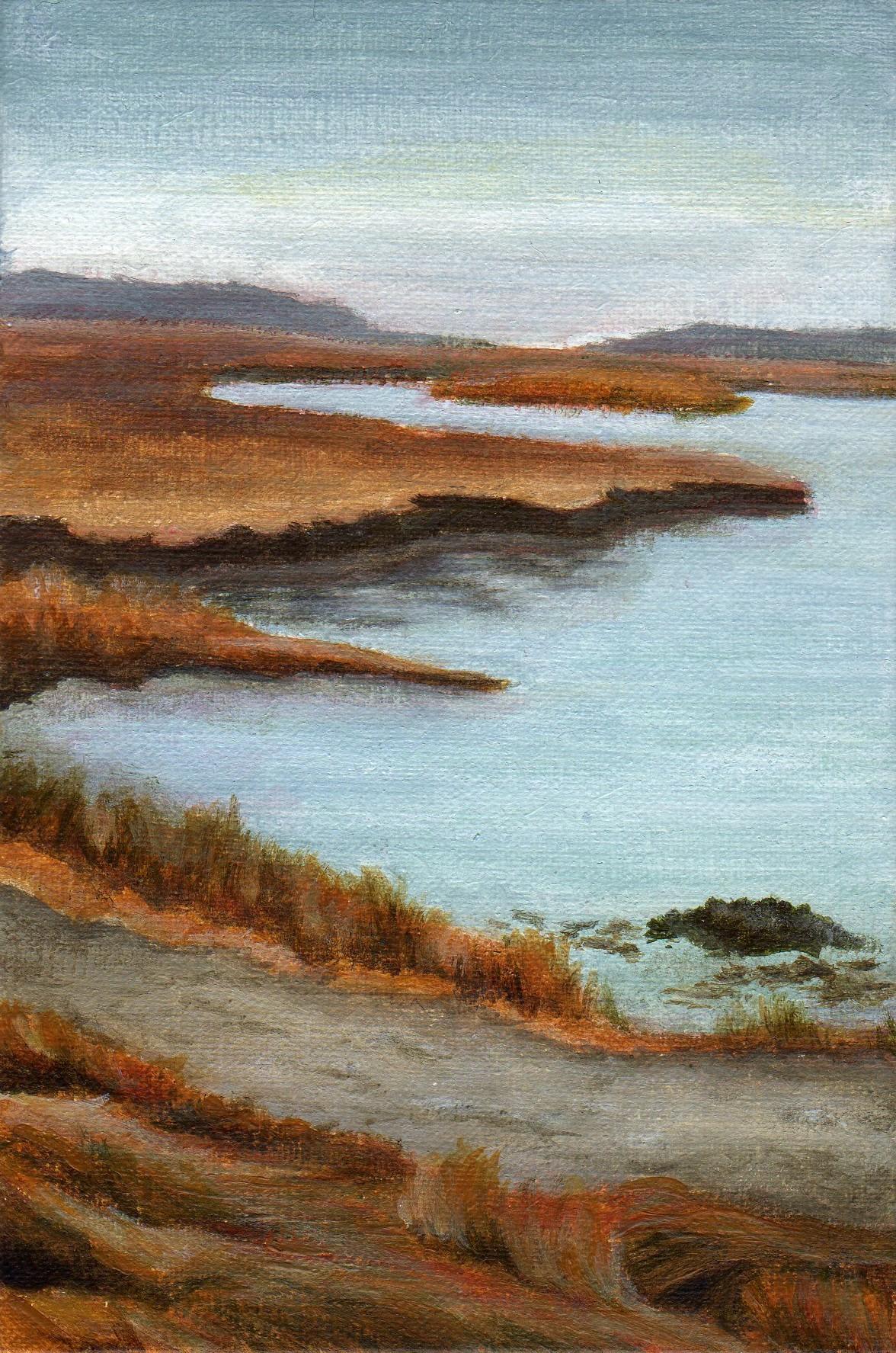 """Parker River"" original fine art by Debbie Shirley"