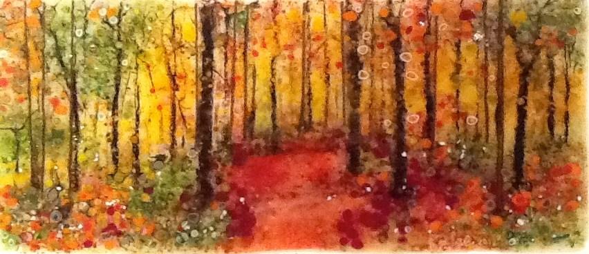 """Autumn"" original fine art by Kelly Alge"