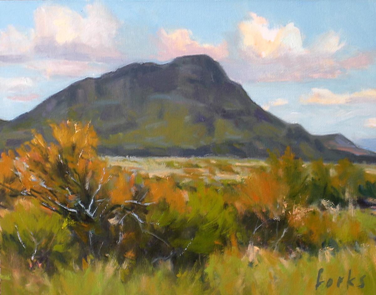 """High Desert Prairie"" original fine art by David Forks"