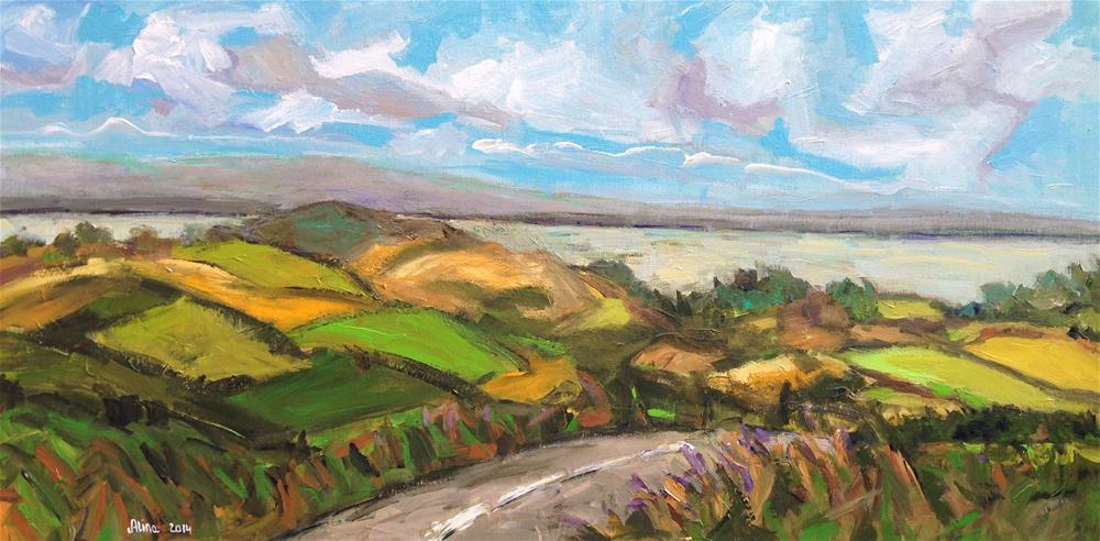 """""""Cumbrian View"""" original fine art by Alina Vidulescu"""