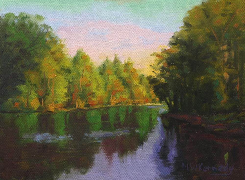 """Reflections #1"" original fine art by Michael Kennedy"