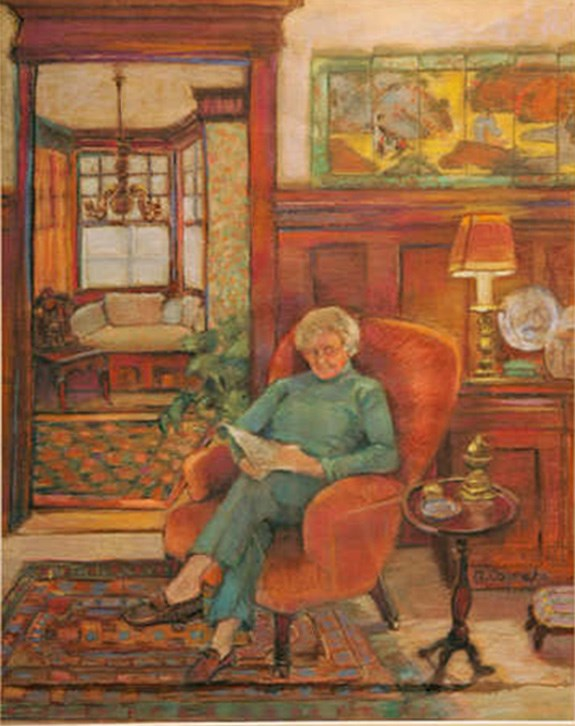 """Betty"" original fine art by meribeth coyne"